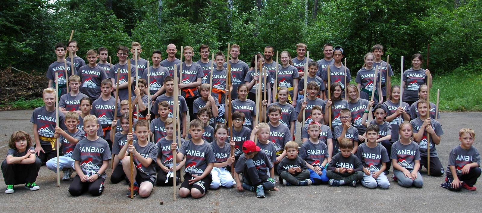 Letni Obóz Kung Fu dla dzieci i młodzieży - Łapino 2017